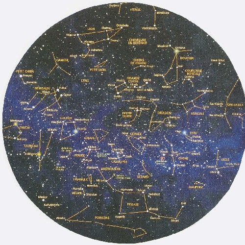 carte astrologique